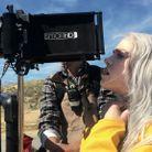Billie Eilish en tournage