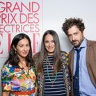 Alina Gurdiel, Claire Berest, lauréate du Grand Prix des Lectrices 2020 pour « Rien n'est noir » (Stock) et Abel Quentin