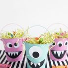 Panier de bonbons Halloween maternelle