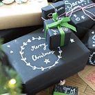 Emballage cadeau Noël