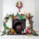 Guirlande Noël géante