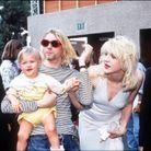 Kurt Cobain, Courtney Love et leur fille Frances