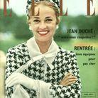 Jeanne Moreau pour ELLE, en 1958