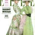 Jeanne Moreau pour ELLE, en 1964, avec Brigitte Bardot