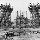 Construction du premier niveau de la Tour Eiffel