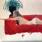 « November Girl », d'après une photographie de Bebe Buell parue dans « Playboy »