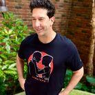 """David Schwimmer porte un t-shirt """"Lobsters"""""""