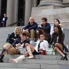 Le casting du reboot de « Gossip Girl » sur les marches du Metropolitan Museum of Art