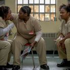 Crazy Eyes (Uzo Aduba), Taystee (Danielle Brooks) et Black Cindy (Adrienne C. More)
