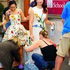 Kristin Davis et l'actrice jouant Lily