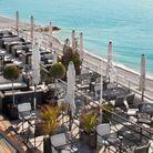 La terrasse de rêve du Méridien à Nice (Alpes-Maritimes)