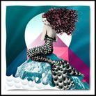 Un foulard sirène