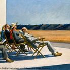 "Isabelle Huppert commente ""People In The Sun""  d'Edward Hopper"