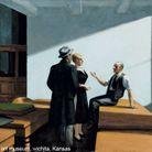 "Valérie Mrejen* commente ""Conference At Night"" d'Edward Hopper"