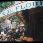 Juliette Gréco au café de Flore