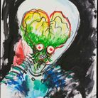 "Un croquis de ""Mars Attacks !"""