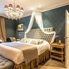 Une belle chambre d'hôtel à Bruges