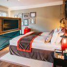 Une belle chambre d'hôtel à Budapest