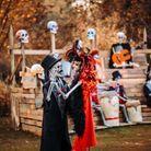 Halloween à Bellewaerde en Belgique