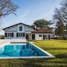 Villa Abantza, à Biarritz