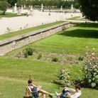 A Paris, Le jardin des Tuileries
