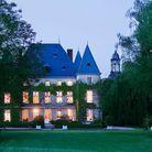 Dîner romantique dans un petit château