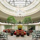 Le tea time du Shangri-La Hotel, à Paris
