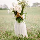 Bouquet de fleurs blanches printanières