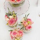 Composition florale romantique
