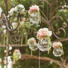 Composition florale suspendue