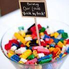 Jeu de mariage enfant : les lego