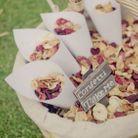 Cornet de confettis pour invités