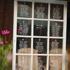 Plan de table fenêtre