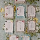Plan de table vintage