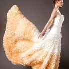 Mariage guide shopping robe couleur majorque docquin