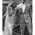 Robe mariage rétro bohème