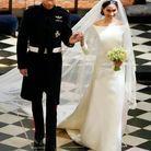 Meghan Markle et sa robe de mariée Givenchy