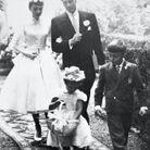 La robe de mariée mi longue à manches ballons portée par Audrey Hepburn