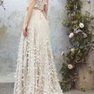 Robe de mariée princesse travaillée