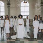 La robe de demoiselle d'honneur de Beyonce au mariage de Solange Knowles