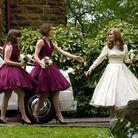 La robe de demoiselle d'honneur de Keira Knightley