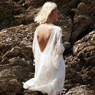 Robe de mariée courte légère Elise Hameau chez Maria Luisa Mariage