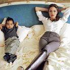 Le coloriage pour Angelina Jolie