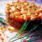Minceur recettes legeres regime paleolithique tartare saumon