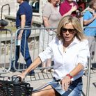 Brigitte Macron sportive