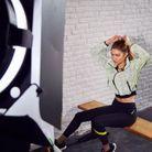 Gigi Hadid pour sa campagne avec Reebok