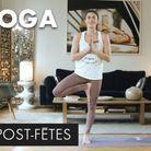 20 minutes de yoga détox après les fêtes