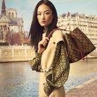 Le sac NéoNoé en toile Monogram et cuir coquelicot par Louis Vuitton