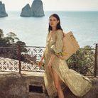 Le panier citron issu de la collection Capri de Vanessa Bruno