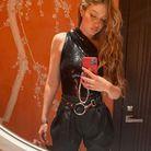 Gigi Hadid et son grigri de téléphone